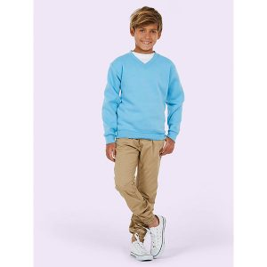 Childrens V-Neck Sweatshirt