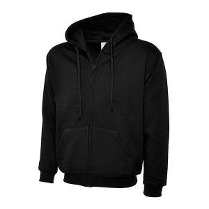 Adults Classic Full Zip Hooded Sweatshirt – 300GSM