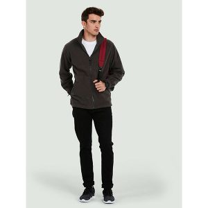 Premium Full Zip Micro Fleece Jacket – 380GSM
