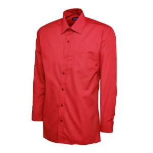Mens Poplin Full Sleeve Shirt