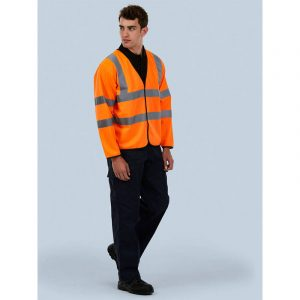 Long Sleeve Safety Waist Coat